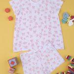 Πιτζάμες με Πεταλούδες Πακέτο Χ2 για Κορίτσι