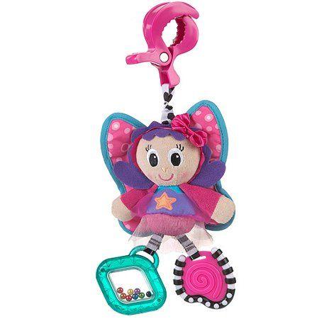 Playgro Dingly Dangly Floss the Fairy Παιχνίδι καροτσιού με κουδουνίστρα