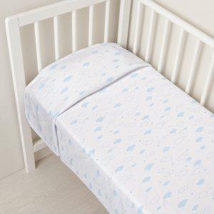 Κουβέρτα με Γαλάζια Σύννεφα για Αγόρι