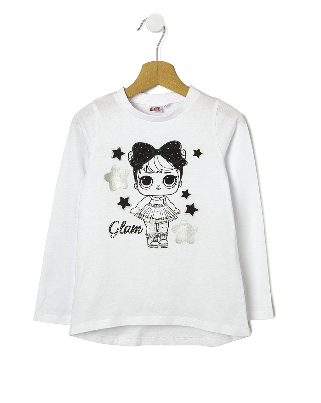 Μπλούζα με Στάμπα LOL για Κορίτσι