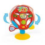 Baby Clementoni Βρεφικό Παιχνίδι Τιμόνι - Κέντρο Δραστηριοτήτων 1000-17241