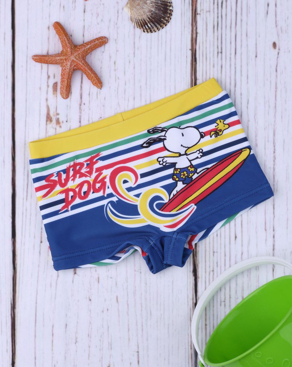 Μαγιό Σορτσάκι Πολύχρωμο Snoopy για Αγόρι