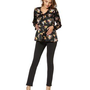 Γυναικεία Μπλούζα με Λουλούδια