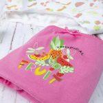 Βρακάκια Παιδικά Πακέτο Χ7 με Φρούτα για Κορίτσι