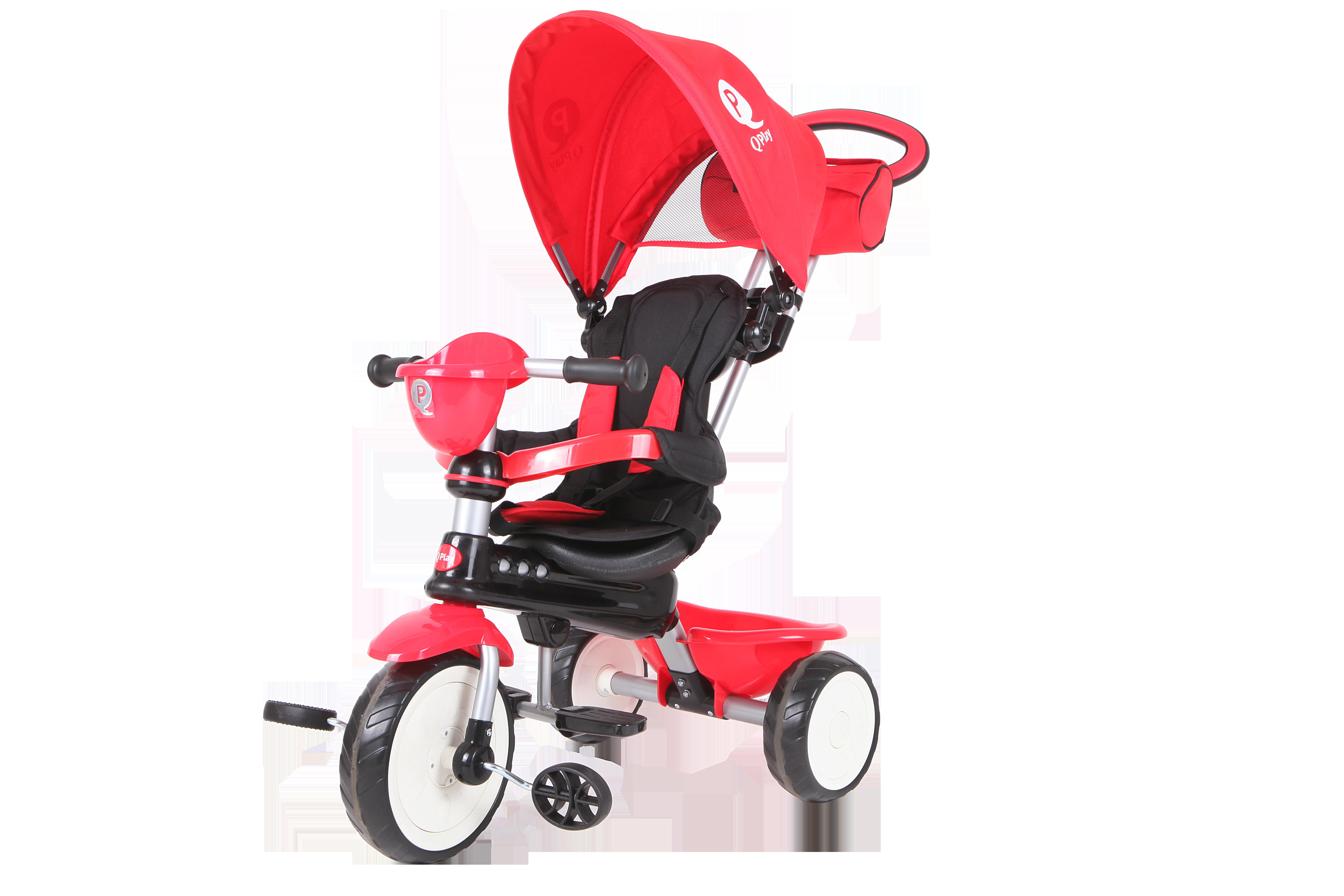 QPlay Τρίκυκλο Comfort Red 01-1212043-01