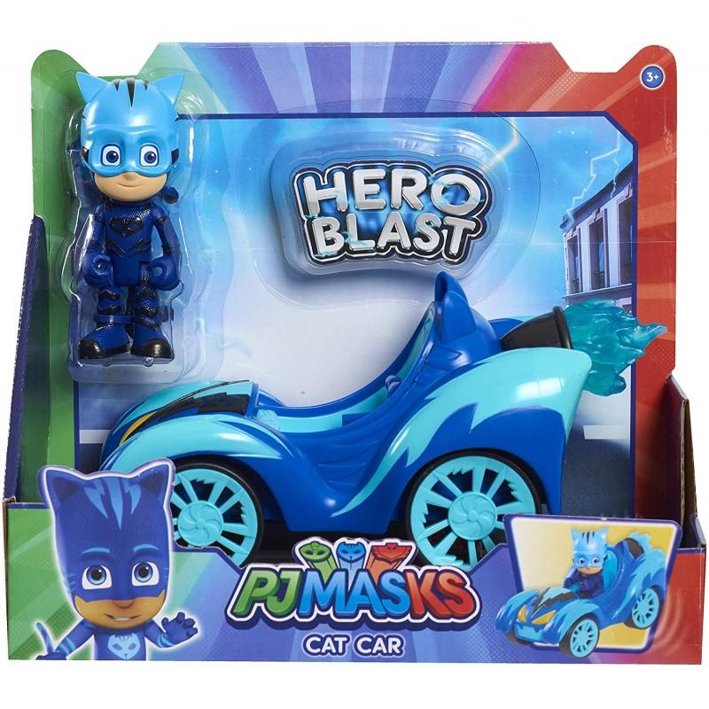 PJ Masks - Πιτζαμοήρωες Οχήματα Hero Blast Με Φιγούρα - 3 Σχέδια PJMA1000