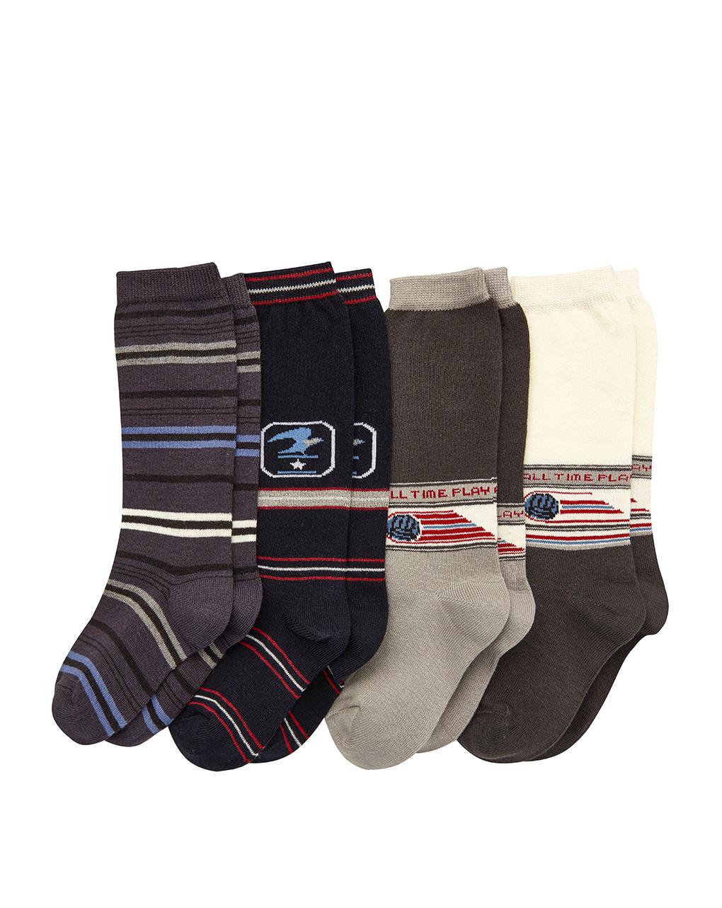 Κάλτσες Κοντές x4 για Αγόρι