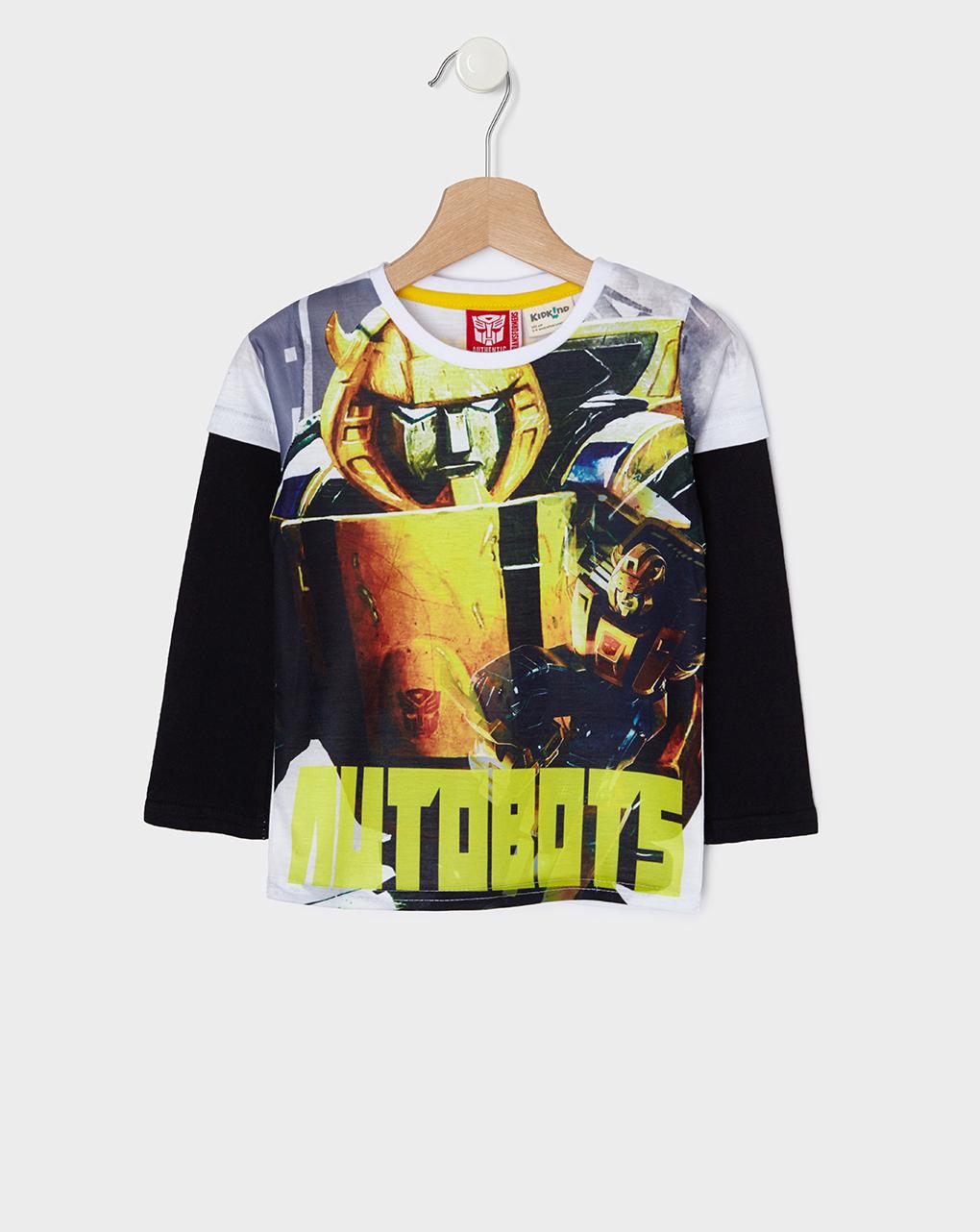 T-shirt με στάμπα Transformers για Αγόρι