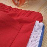 Βερμούδα με Διάτρητα Ένθετα Κόκκινη για Αγόρι