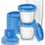 Avent Δοχεία Αποθήκευσης Μητρικού Γάλακτος 180Ml