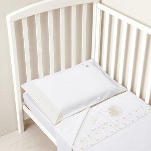 Σετ 3 τεμαχίων Λευκό για Κρεβάτι Unisex