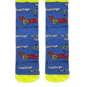 Κάλτσες Αντιολισθητικές Μπλε για Αγόρι