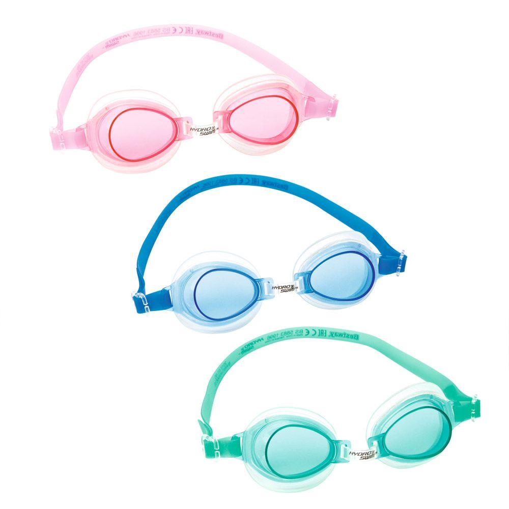 Best Way  Σετ Γυαλιά Κολύμβησης 3 Χρώματα