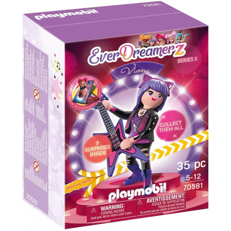 Playmobil Everdreamerz Viona - Μουσικός Κόσμος 70581