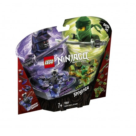 LEGO Ninjago Σπιντζίτσου Λόιντ Εναντίον Γκάρμαντον - Spinjitzu Lloyd Vs. Garmadon 70664