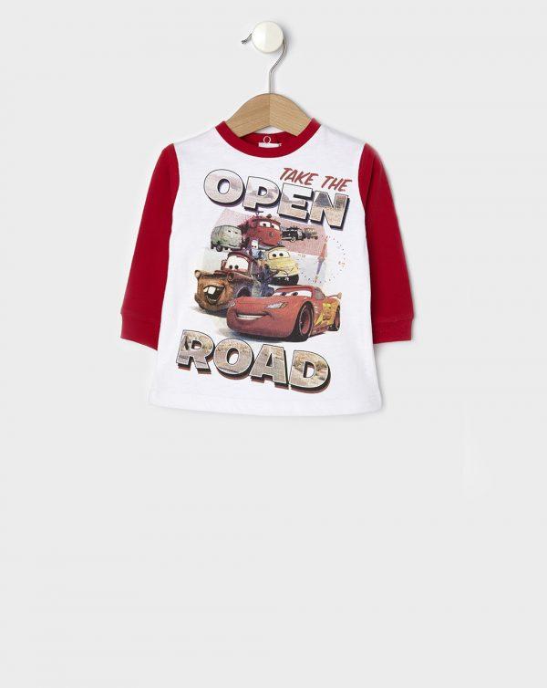 T-shirt με Στάμπα Cars για Αγόρι