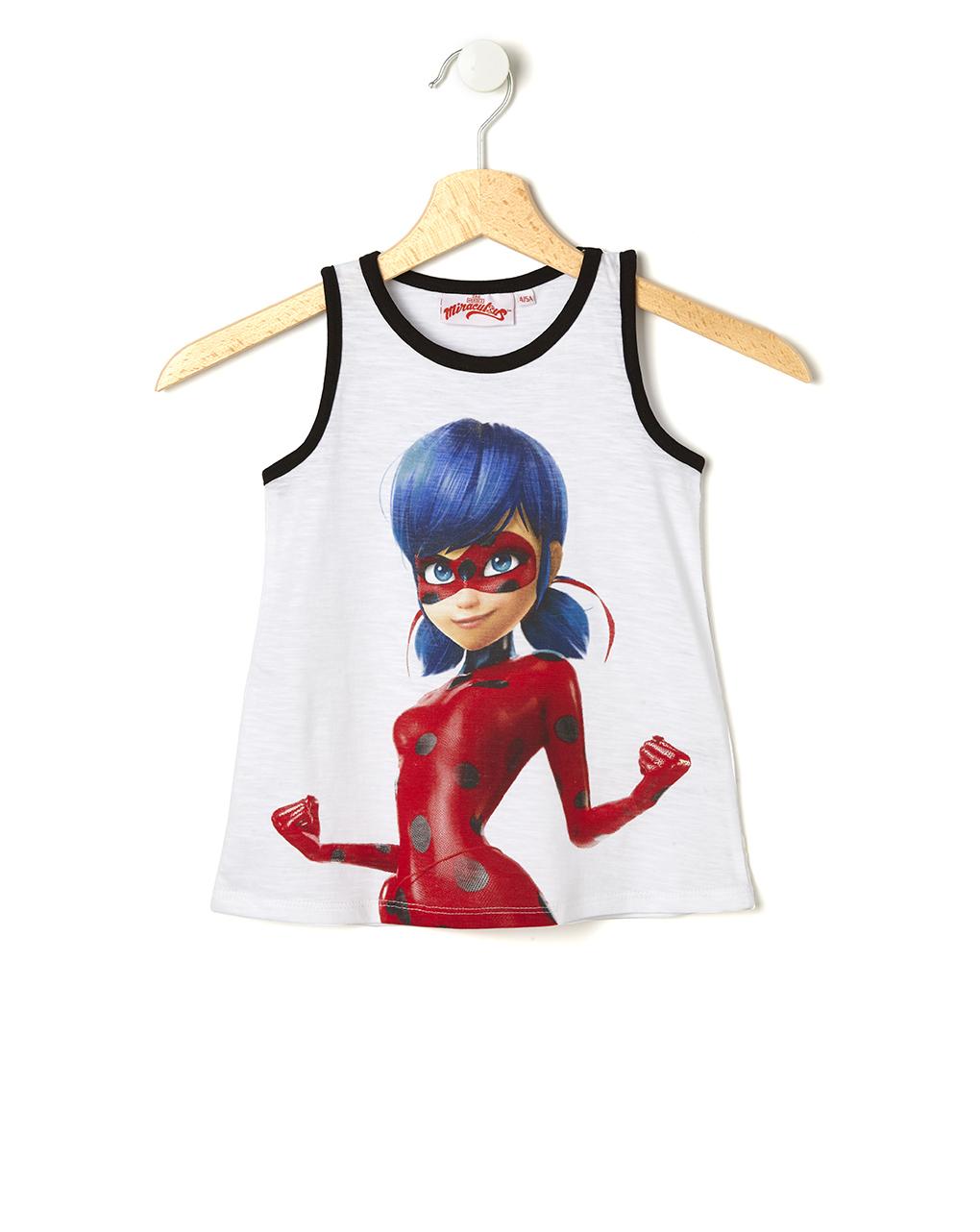 Αμάνικο Μπλουζάκι Miraculous Ladybug για Κορίτσι