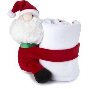 Κουβερτούλα Χριστουγεννιάτικη Λευκή