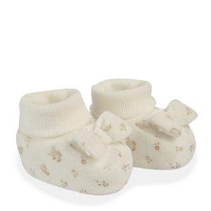 Παπούτσια Μαλακά Σενίλ με Φιόγκο για Κορίτσι
