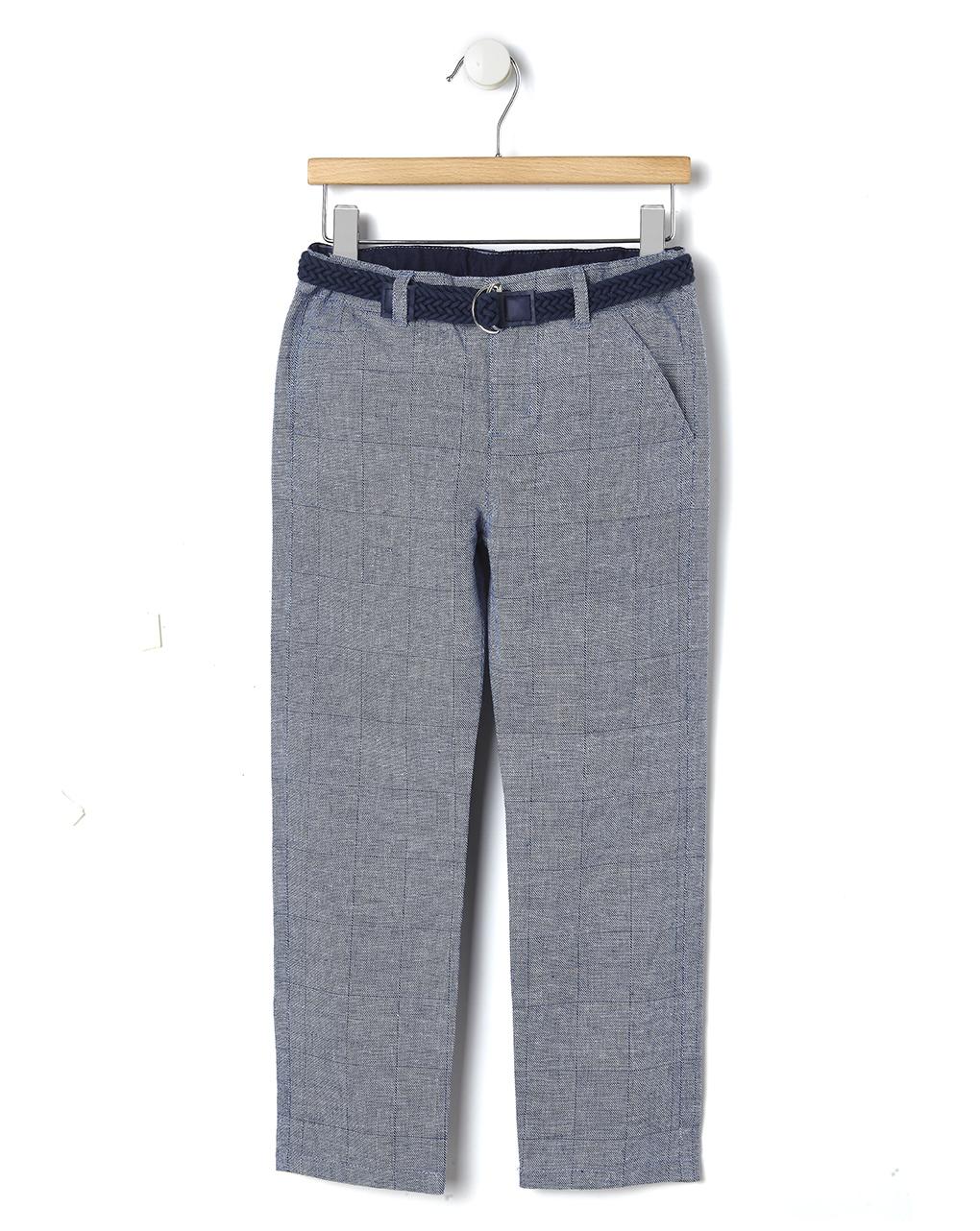 Παντελόνι Μπλε με Ζώνη για Αγόρι