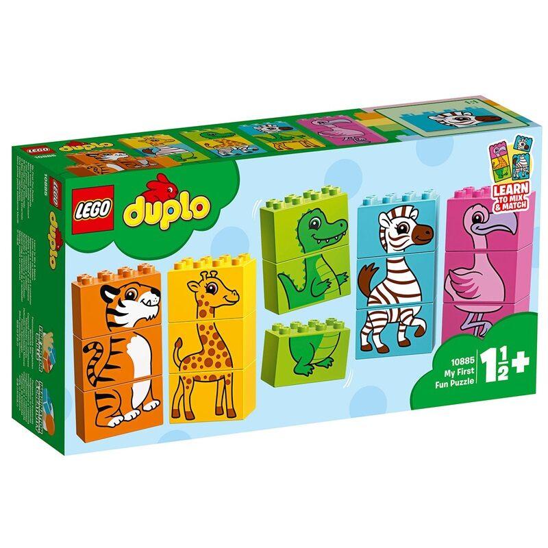 LEGO DUPLO My First Τα Πρώτα Μου Ζωάκια Ακροβάτες 10885