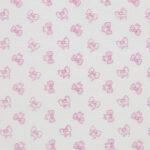 Καλοκαιρινή Κουβέρτα για Κρεβάτι Λευκή με Φιογκάκια