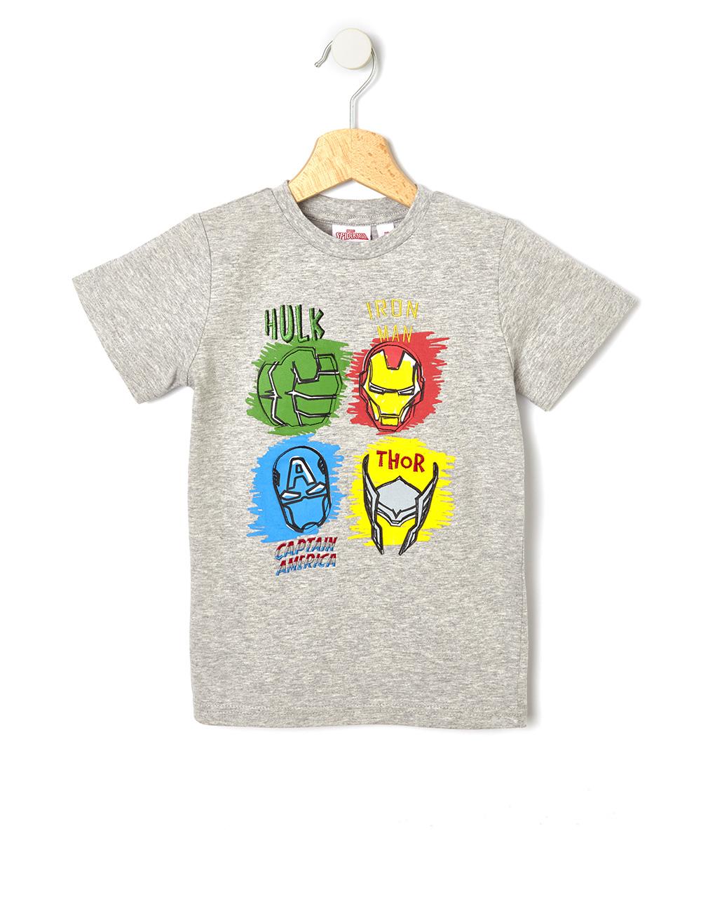 T-shirt Γκρι Avengers για Αγόρι