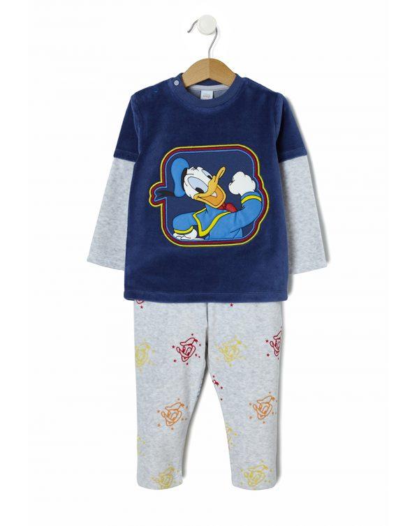 Πιτζάμα σενίλ Donald Duck