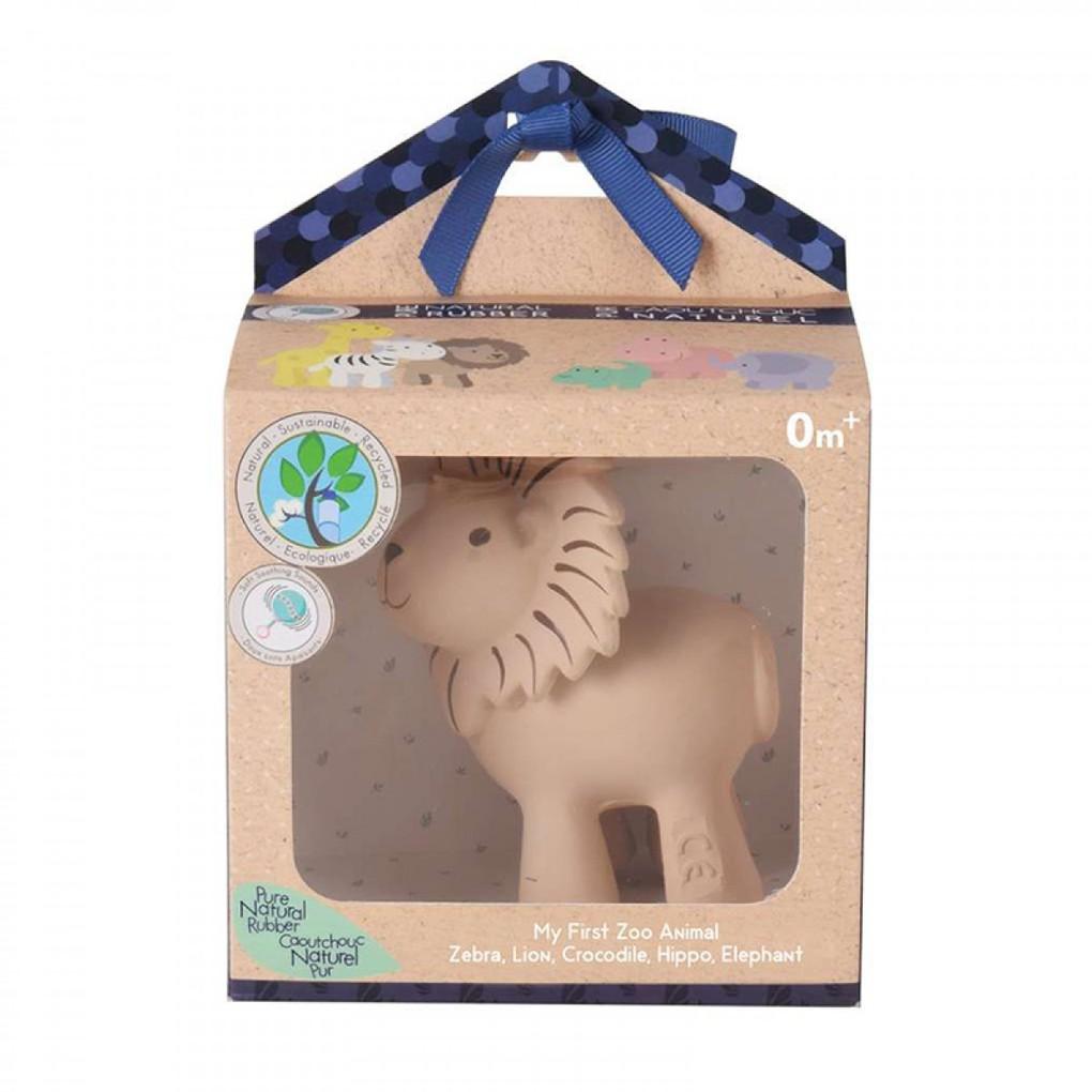 Tikiri Toys Βρεφικό Παιχνίδι Μασητικό Λιονταράκι