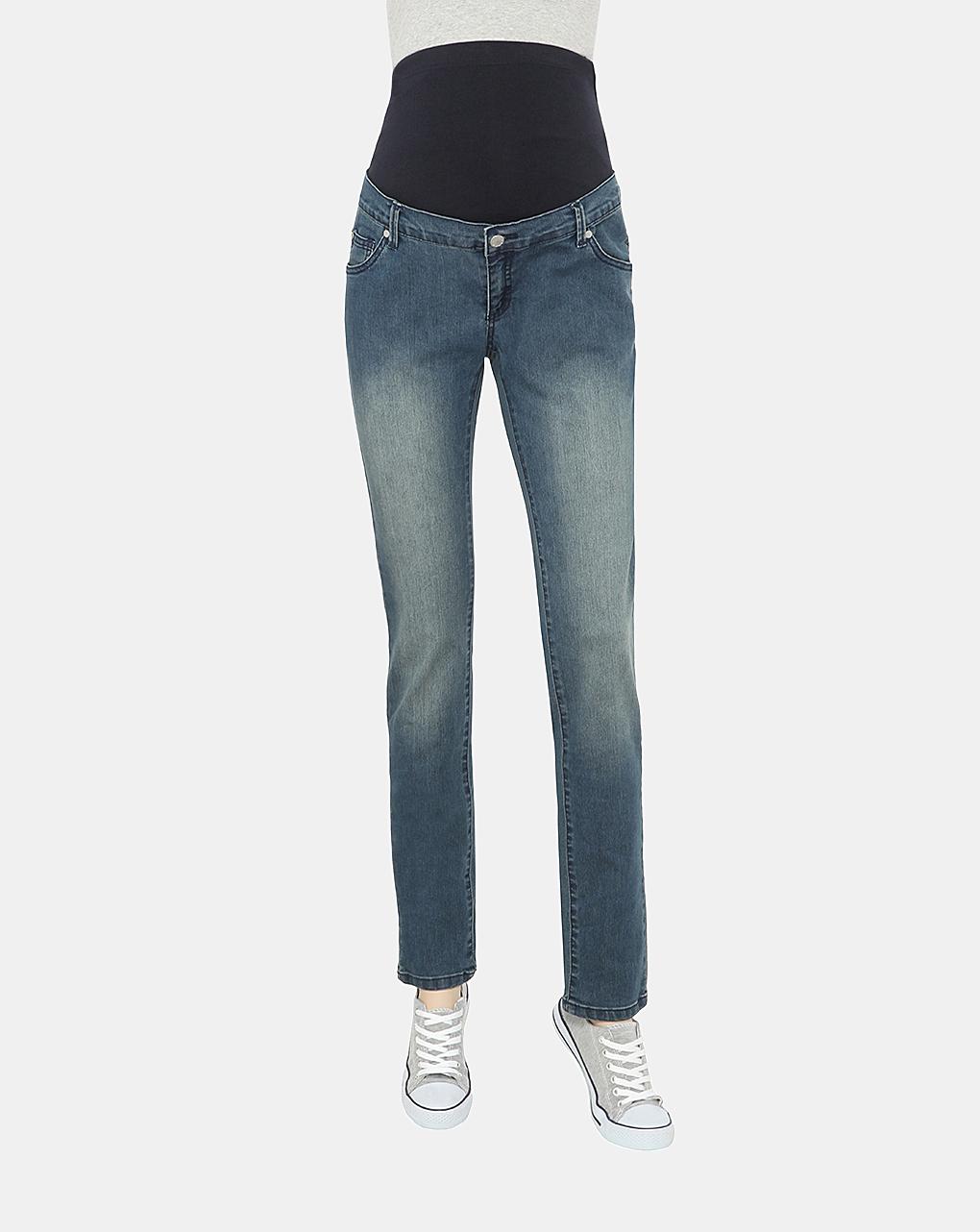 Γυναικείο Παντελόνι Denim Slim Bottom up
