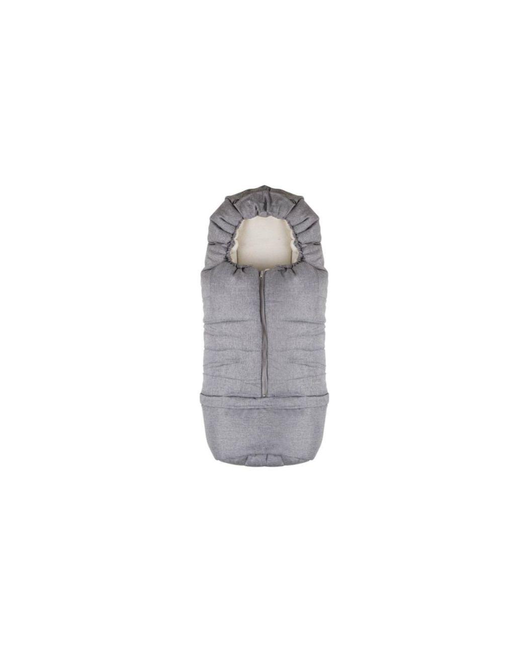 Nuvita Ποδόσακος  Junior Carry Melange Light Grey