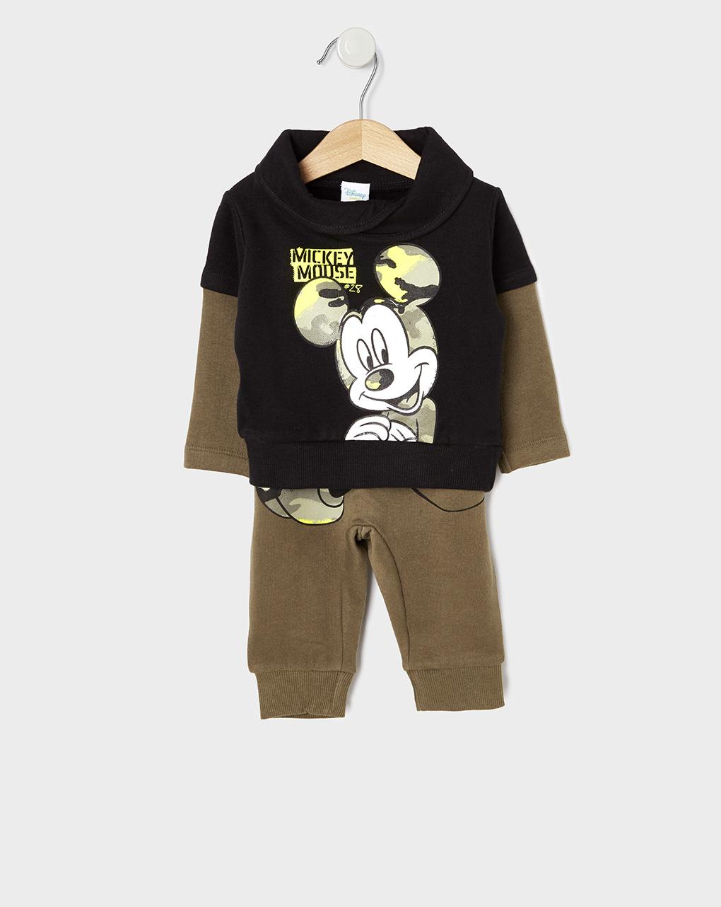 Σετ Φόρμας με Mickey Mouse για Αγόρι