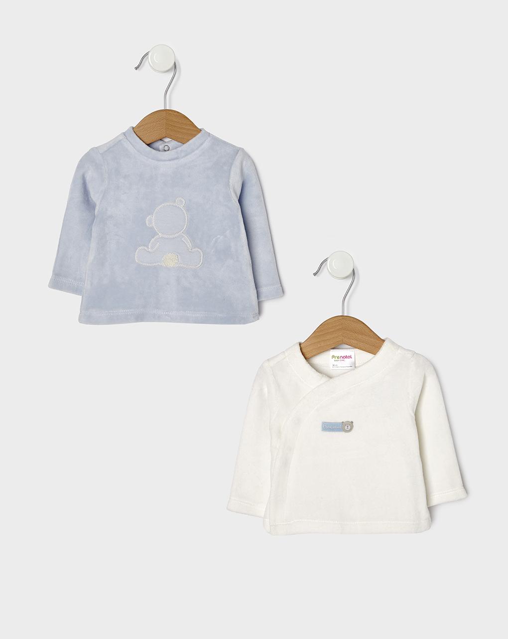 Μπλουζάκια Σενίλ x2 τεμ. για Αγόρι