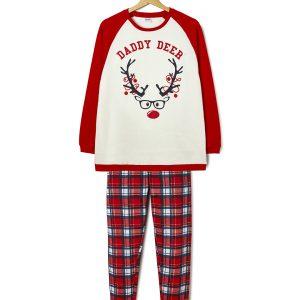 Χριστουγεννιάτικη πιτζάμα φούτερ Family dad