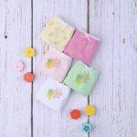 Βρακάκια Παιδικά Πακέτο Χ5 με Λουλουδάκια για Κορίτσι