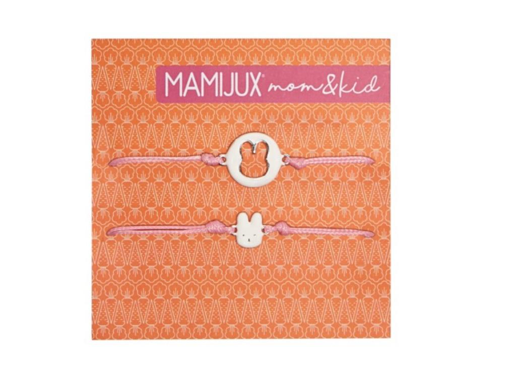 Mamijux Βραχιόλια Mom & Kid Σχέδιο Κουνελάκι