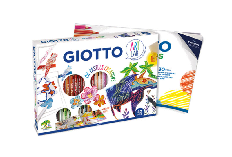 GIOTTO ART LAB Σετ Δημιουργίας  Oil Pastels Creations 000581700