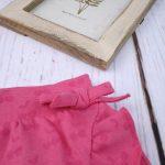 Σορτσάκι-Φούστα Jersey Φούξια για Κορίτσι