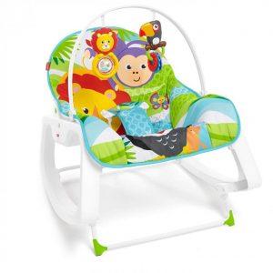 Fisher-Price Infant To Toddler - Ριλάξ / Κούνια Λιονταράκι