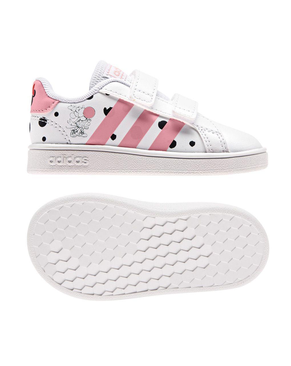 Αθλητικά Παπούτσια Adidas Grand Court I FZ3229 Minnie για Κορίτσι