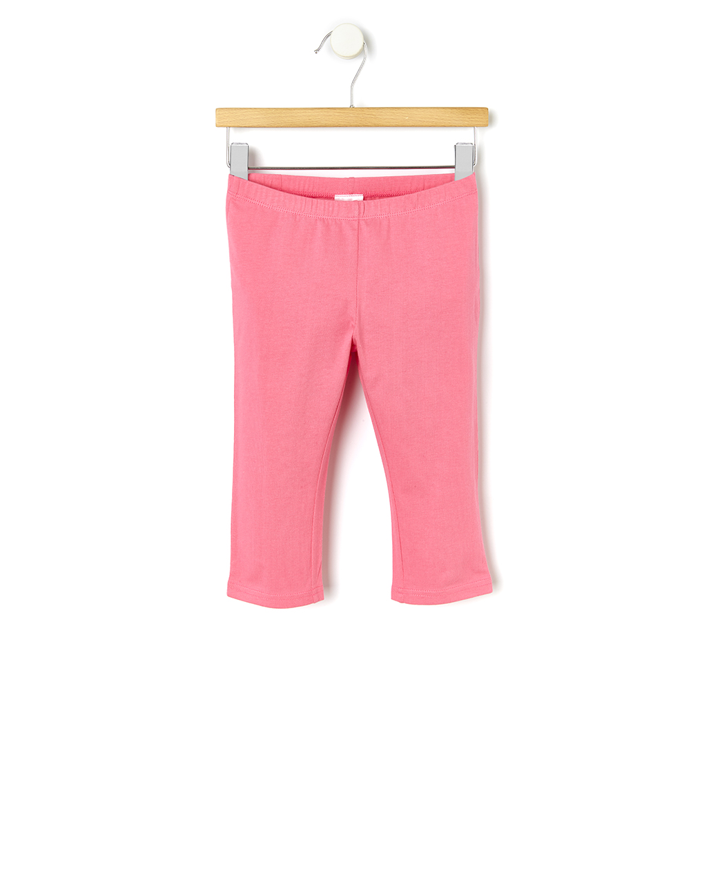 Κολάν Jersey Basic 3/4 Ροζ για Κορίτσι