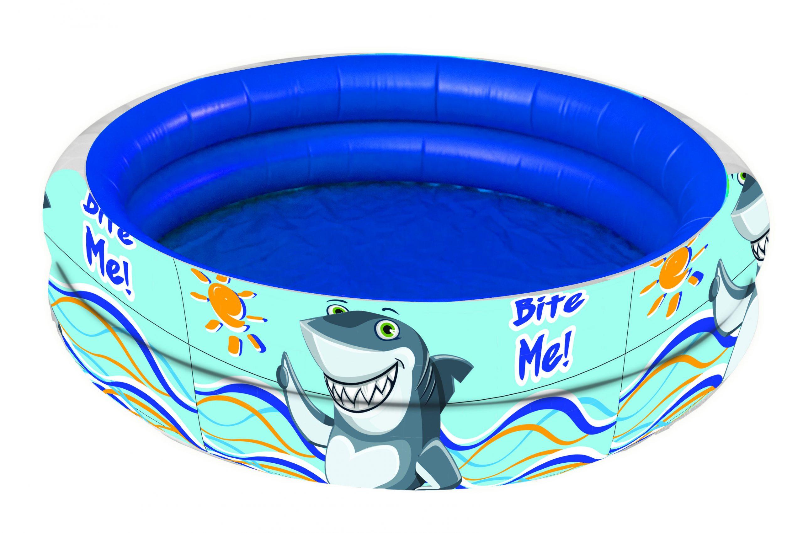 Gim Πισίνα Απλή 100x30cm Shark 874-02170