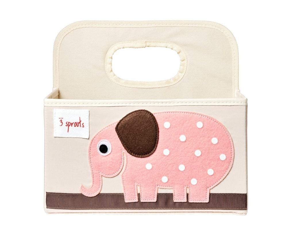 3Sprouts Θήκη για Πάνες Elephant