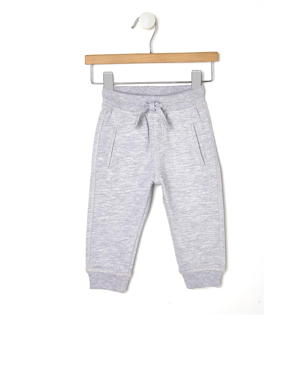 Παντελόνι Φόρμα σε Ανοιχτό Γκρι για Αγόρι