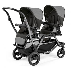 Peg Perego Καρότσι Διδύμων Duette Piroet City Grey