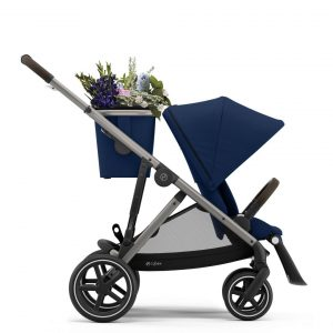 Cybex Gazelle S Βρεφικό Καρότσι Navy Blue - Taupe Chassis