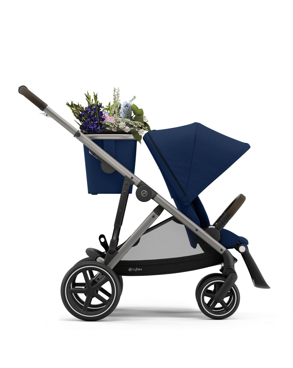 Cybex Gazelle S Βρεφικό Καρότσι - Μπλε - Taupe Chassis