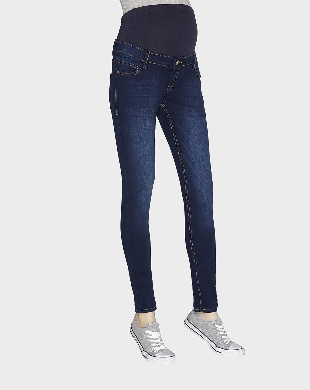 Γυναικείο Skinny Παντελόνι Denim Σκούρο