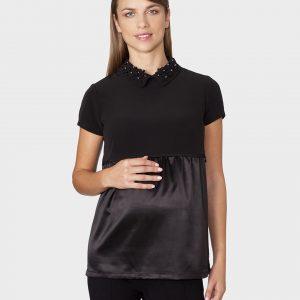 Γυναικεία Μπλούζα Θηλασμού Μαύρη
