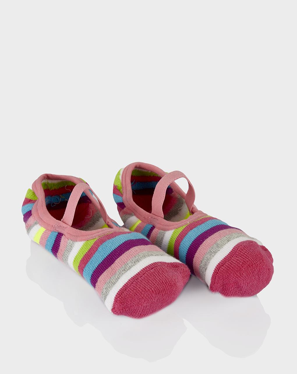 Κάλτσες Αντιολισθητικές Πολύχρωμες για Κορίτσι